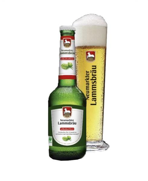 Lammsbräu Bio alkoholfrei 10x0,33l (+Pfand 2,30€)
