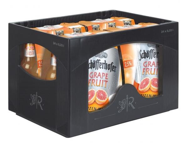 Schöfferhofer Grapefruit 24x0,33l (+Pfand 3,42€)