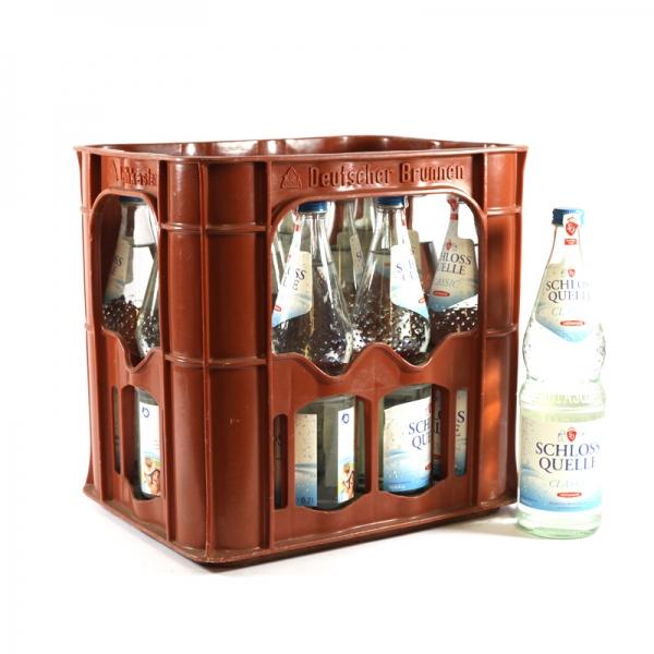 Schloß Quelle Classic 12x0,7l Glas (+3,30€ Pfand)