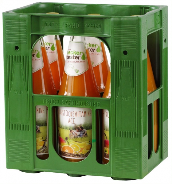 becker`s bester ACE Multisaft 6x1l Glas (+Pfand 2,40€)