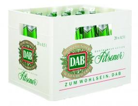 DAB Pils 20x0,5l (+Pfand 3,10€)