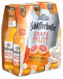 Schöfferhofer Grapefruit 6x0,33L (+ 0,48€ Pfand)