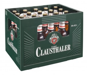 Clausthaler Alkoholfrei Classic 20x0,5l (+Pfand 3,10€)