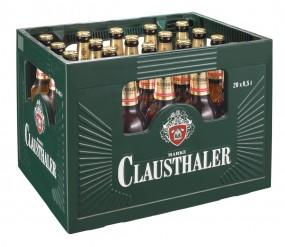 Clausthaler Alkoholfrei Herb 20x0,5l (+Pfand 3,10€)