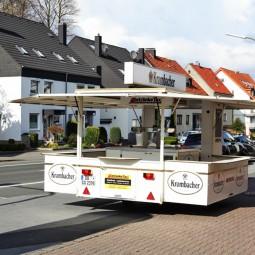 Bierwagen Krombacher - zur Miete