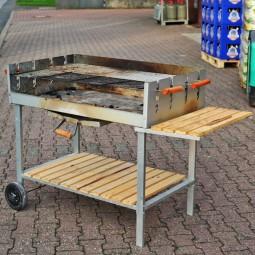 Grill (Holzkohle) ca 100x55cm - Verleih für 1-3 Tage