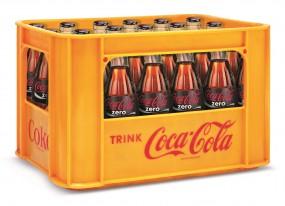 Coca Cola Zero 24x0,33l Glas (+Pfand 5,10€)