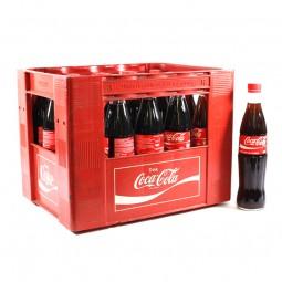 Coca Cola 20x0,5l Glas (+Pfand 4,50€)