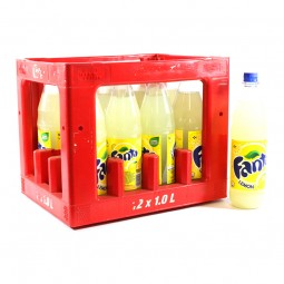 Fanta Lemon 12x1l PET (+Pfand 3,30€)