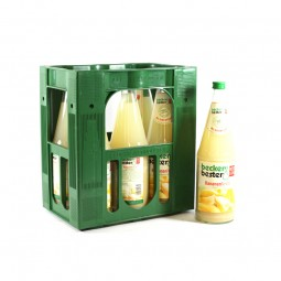 becker`s bester Banane 6x1l Glas (+Pfand 2,40€)