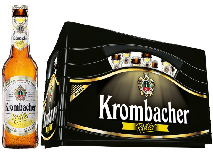 krombacher radler 24x0 33l pfand 3 42 biere produkte getr nke taxi. Black Bedroom Furniture Sets. Home Design Ideas