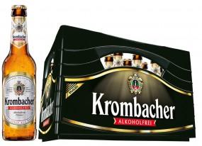 Krombacher Alkoholfrei 24x0,33l (+Pfand 3,42€)