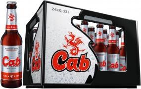 CAB Bier + Cola 24x0,33l (+Pfand 3,42€)