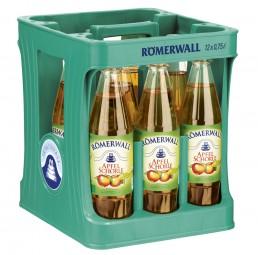 Römerwall Apfelschorle 12x0,75l PET (+Pfand 3,30€)